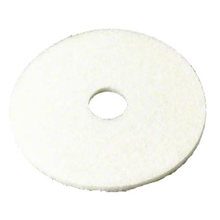 "CS 5 3M 08478 4100 14"" WHITE SUPER POLISH PADS (175-600"