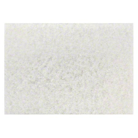 "CS 10 3M 59068 4100 32"" X 14"" BOOST WHITE SUPER POLISH PADS"