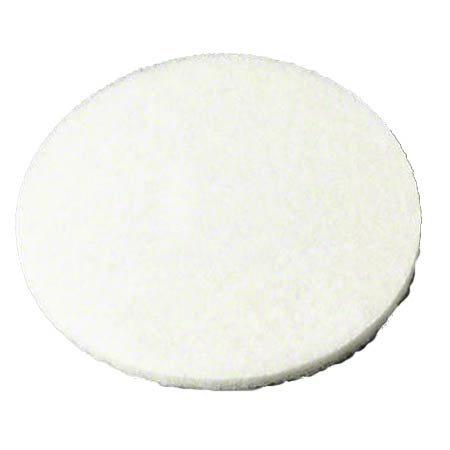 "CS 5 3M 08611 16"" CARPET BONNET PAD WHITE"