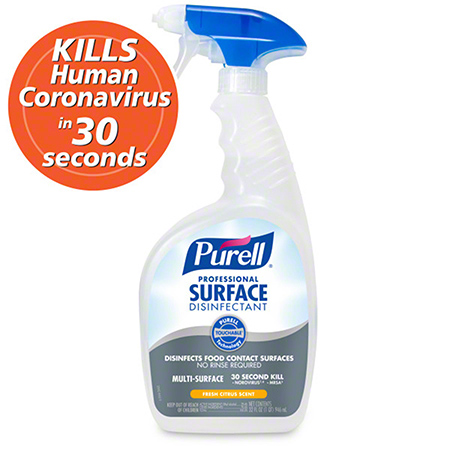 CS 6 QT GOJO 3342-06 PURELL PROFESSIONAL SURFACE