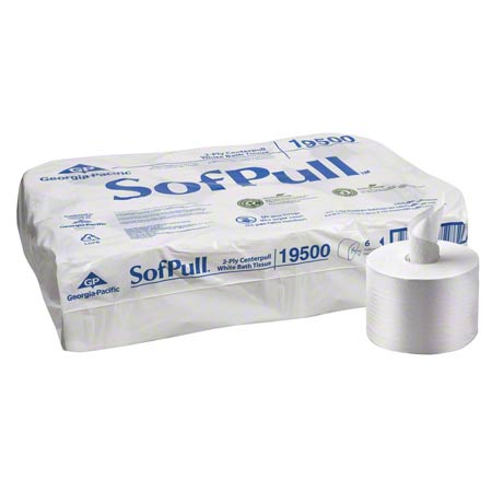 CS 6 GP 19510 2-PLY CENTERPULL BATH TISSUE