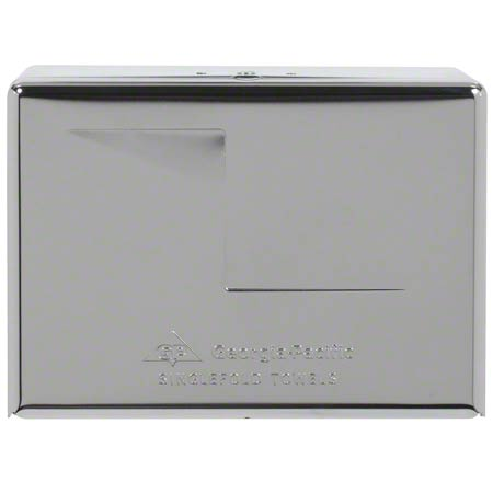GP 56720 METAL SINGLEFOLD TOWEL DISPENSER CHROME