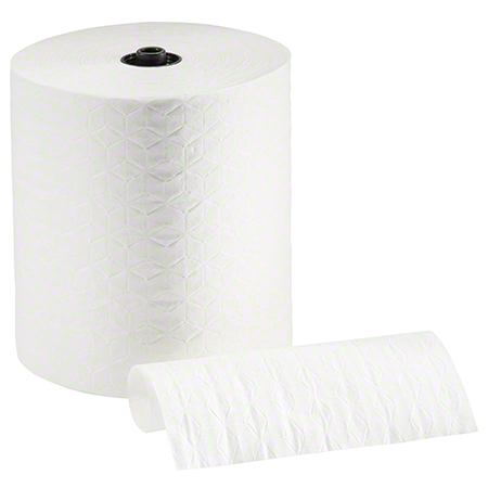 "CS 6 RL GP 89410 ENMOTION WHITE PREMIUM TOWEL 8.2"" X"