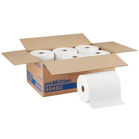 CS 6 RL GP 89490 ENMOTION WHITE EPA ROLL TOWEL 800'