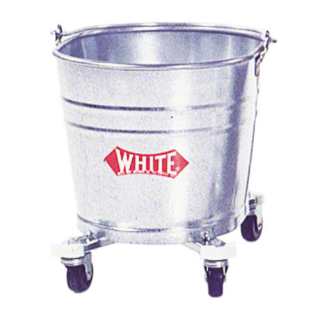 IMPACT 260 26QT OVAL GALVANIZED STEEL BUCKET WITH