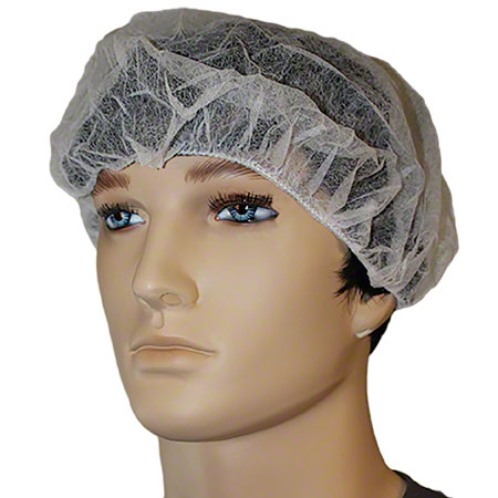 BOX 100 IMPACT 7387W21 HAIR NET WHITE