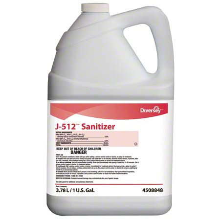 CS 4 GL JD 4508848 J 512 SANITIZER QUAT NO RINSE