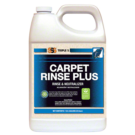 CS 4 GL SSS 48003 CARPET RINSE PLUS RINSE & NEUTRALIZER