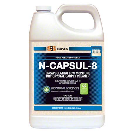 CS 4GL SSS 48072 N-CAPSUL-8 LOW MOISTURE CARPET CLEANER