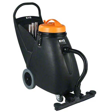 "SSS 86040 BLACK CAT 18 GAL WET DRY VAC 24"" FRONT"