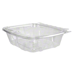 Dart® ClearPac® SafeSeal Container - 24 oz, w/Flat