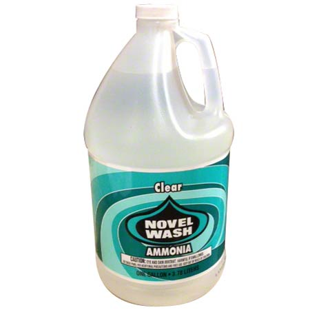Novel Wash Clear Ammonia - Gal.