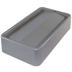 Impact® 23 Gal. Thin Bin™ Gray Swingtop Lid