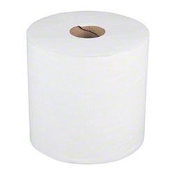 """Merfin® Airlaid Mini Center-Pull Hand Towel - 8"""" x 400', White"""