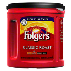 Folgers® Coffee - 39 oz., Ultra Roast