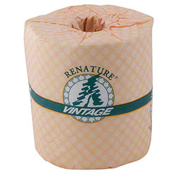 "Vintage® Renature 2 Ply Toilet Tissue - 4.5"" x 3.5"""