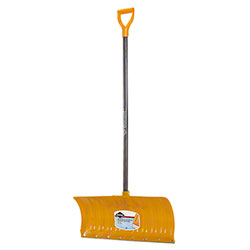 "Garant® Snow Pusher w/26"" Poly Blade & Steel Wear Strip"