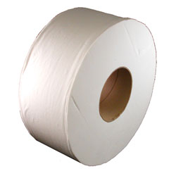 "Jr. Jumbo Roll 2-Ply Tissue - 3.33"" x 1000', White"