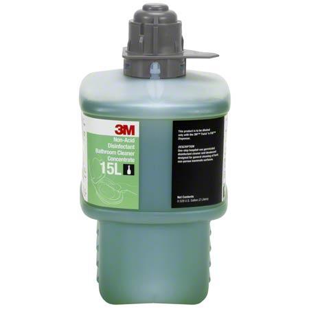 3M™ Twist 'n Fill™ 15L Non-Acid Bathroom Clnr -2L,Gray