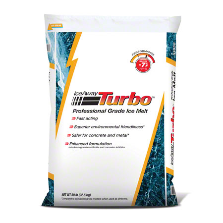 IceAway Turbo™ Professional Grade Ice Melt - 50 lb. Bag
