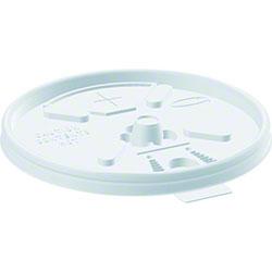 Dart® Lift n'Lock™ Lid w/Straw Slot - Translucent