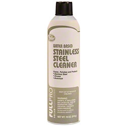 FULLPRO Water Based Stainless Steel Cleaner - 18 oz.