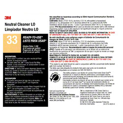 "3M™ Twist n"" Fill™ Neutral Cleaner LO Label"