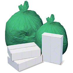 High Density Liner - 26 x 35, 13 mic, Green