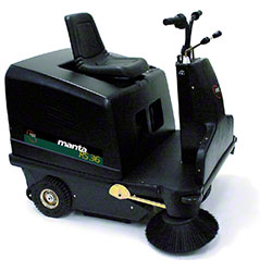 "NSS® Manta RS36 Ride-On Sweeper - 36"", 145 AH Batteries"