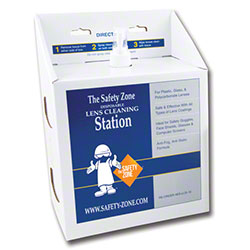 Safety Zone 16 oz. Anti-Fog Lens Cleaning Station