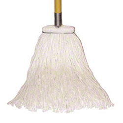SSS® 4-Ply Cotton Sta-Flat Cut End Wet Mop - 20 oz.