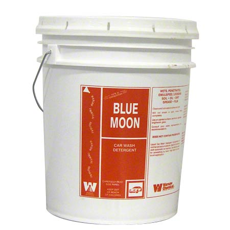 Warsaw Blue Moon Car Wash Detergent - 5 Gal.