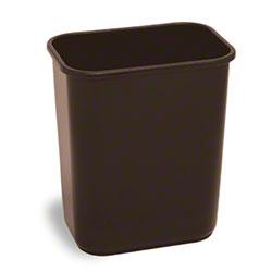 Continental Rectangular Plastic Wastebasket-28 1/8 Qt.