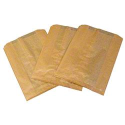 HOSPECO® Kraft Waxed Feminine Hygiene Disposal Bags