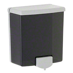 Bobrick ClassicSeries® Surface mounted Soap Dispenser - 40 fl. oz. Capacity, Black/Grey