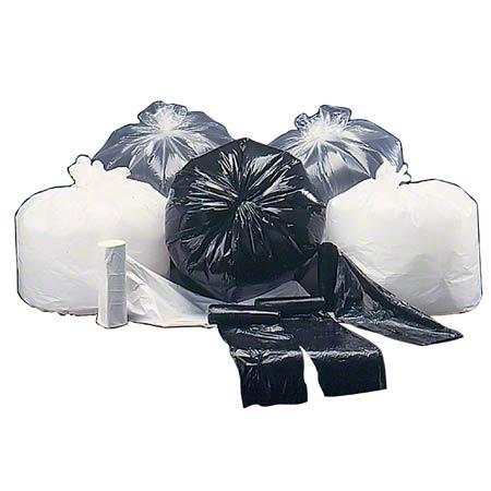 Colonial Bag Premium Liner - 26 x 42, 1.2 gauge, Black