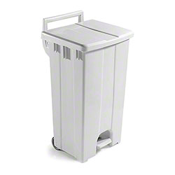 Filmop Polaris Basic Trash Bin - 24 Gal., Beige Cover