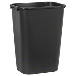 Rubbermaid® Deskside Wastebasket - 41 1/4 Qt., Black