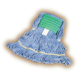 Blue Cotton/Synthetic Blend Wet Mops