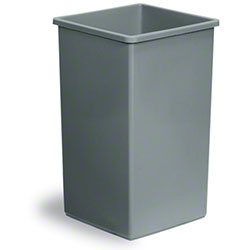 Continental Swingline™ Receptacle  Base -25 Gallon, Grey