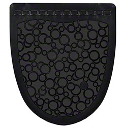 Fresh P-Shield Urinal Mat - Black/Black