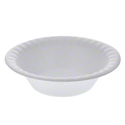 Pactiv Placesetter® Satin 4 oz./5 oz. Bowl, White