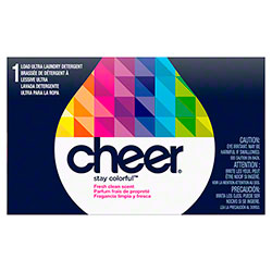 Cheer® Ultra Bright Clean Coin Vend Laundry Detergent 5-63 - 1 Use
