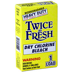 Vend Rite Twice As Fresh Dry Chlorine Bleach - 1 Load