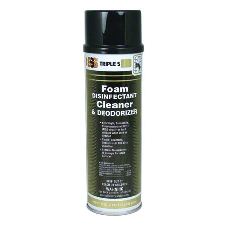 SSS® Foam Disinfectant Cleaner - 19 oz Aerosol