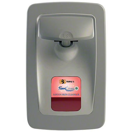 SSS® FoamClean Collection 1000-1250 mL Dispenser -Lt. Gray