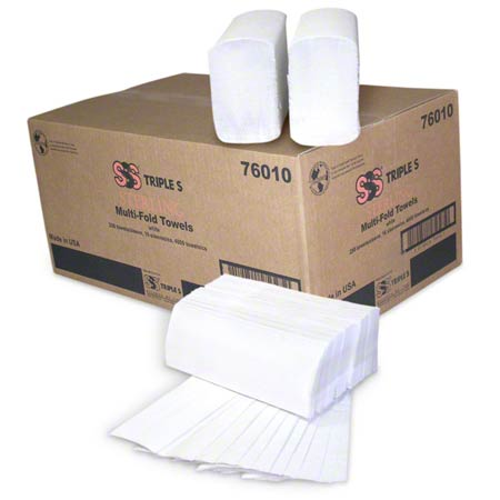 SSS® Sterling Multi-Fold Towel - White