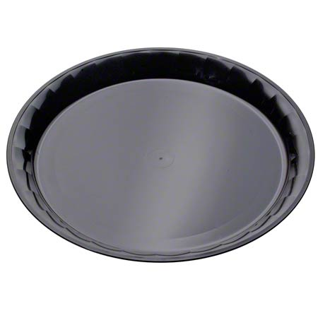 "EMI Yoshi ConServe Black Round Platter Tray - 16"""