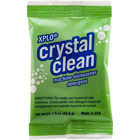 XPLO® Crystal Clean Auto Dish Detergent Powder - 1.5 oz.