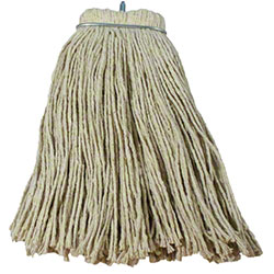 Layflat® Cut-End Cotton Wet Mop Head - 24 oz., Regular